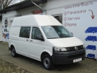 VW TRANSPORTER 2.0 TDI, DUBL. CABINE, LONG, L2H2, KLIMA, 3000 KG., 5 PERSON